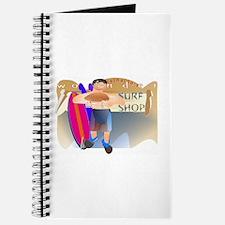 """""""Reinaldo's Wonder Surf Shop"""" Journal"""