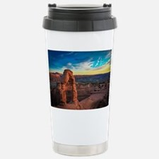 Unique Arches national park Travel Mug
