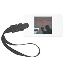 Happy Holidays To You. Postcard Luggage Tag