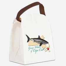 Great Whites of Cape Cod Canvas Lunch Bag