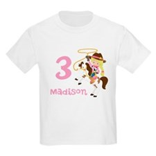 Cowgirl Birthday T-Shirt