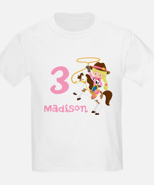 Cowgirl Birthday T-Shirt