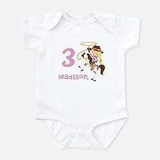 Cowgirl Birthday Infant Bodysuit