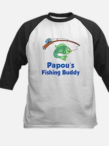 Papou Fishing Buddy Baseball Jersey