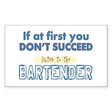 Bartender Decal