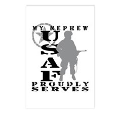 Nephew Proudly Serves - USAF Postcards (Package of