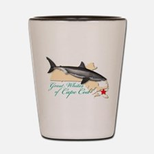 Great Whites of Cape Cod Shot Glass