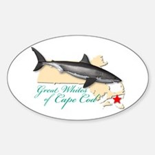 Great Whites of Cape Cod Decal