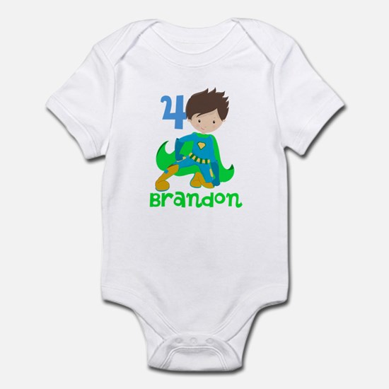 Superhero Boy Infant Bodysuit