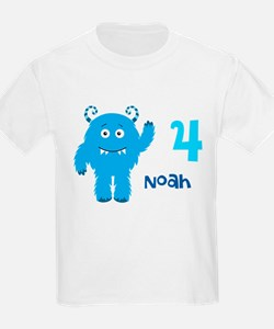 Blue Monster T-Shirt