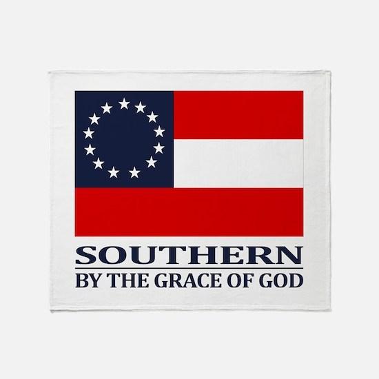 CSA 1st Nationl (Grace of God) Throw Blanket