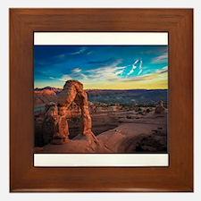 Utah Arches National Park Framed Tile