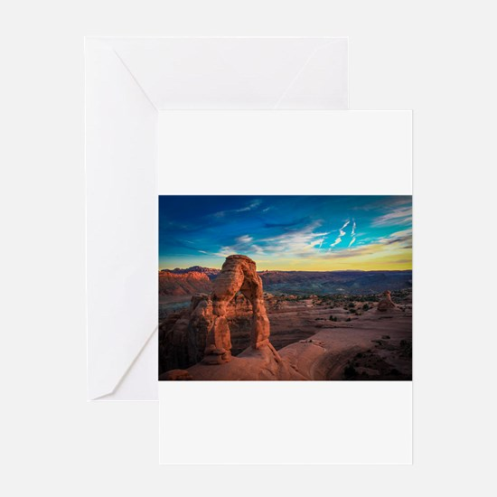 Utah Arches National Park Greeting Cards