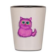 pink Kitten Shot Glass
