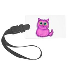 pink Kitten Luggage Tag