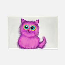 pink Kitten Magnets