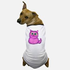 pink Kitten Dog T-Shirt