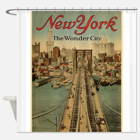 New York City; The Wonder City; Vintage Poster Sho