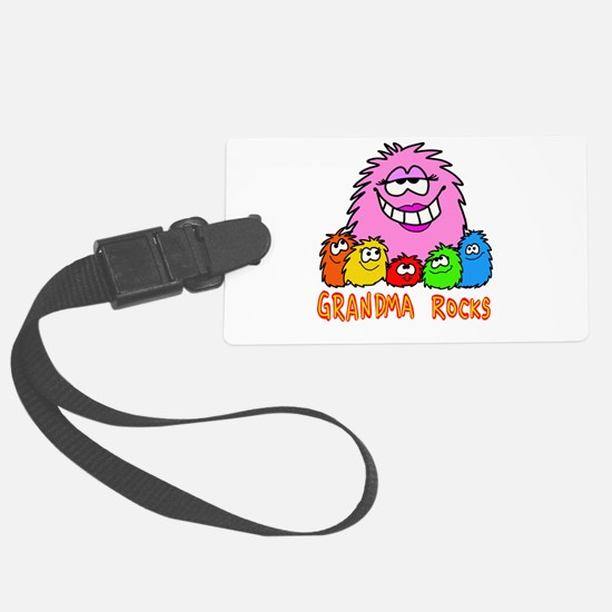 Grandma Rocks! Luggage Tag