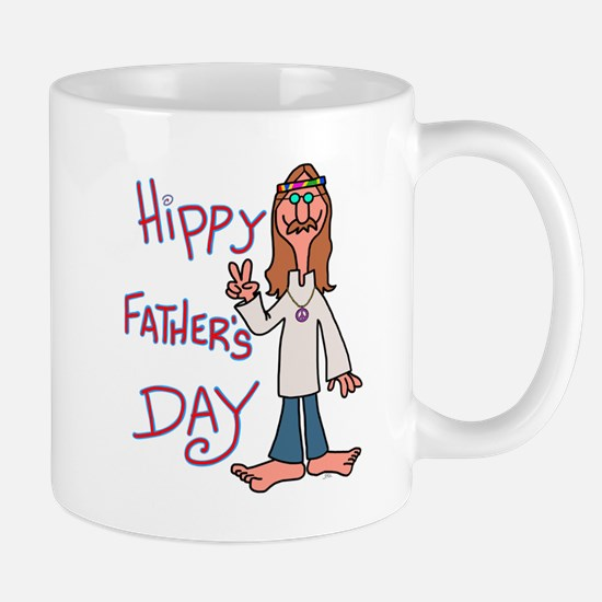 Hippy Father's Day Mugs