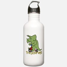 Triceratops Bicycle Water Bottle