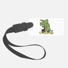 Triceratops Bicycle Luggage Tag