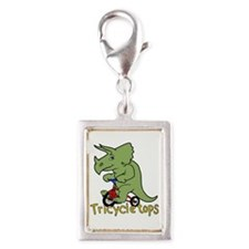 Triceratops Bicycle Charms