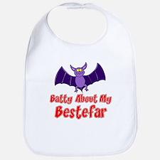 Batty About My Bestefar Bib
