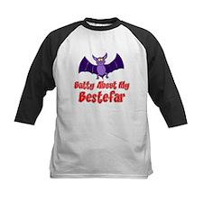 Batty About My Bestefar Baseball Jersey