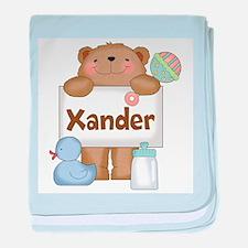 Xander's baby blanket