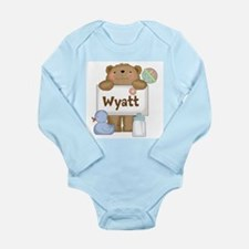 Wyatt's Long Sleeve Infant Bodysuit