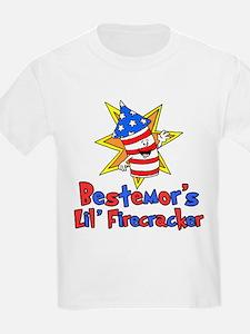 Bestemor's Little Firecracker T-Shirt