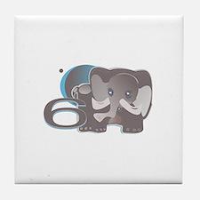 ELEPHNT6 'Cocoa' Tile Coaster
