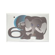 ELEPHNT6 Rectangle Magnet (10 pack)