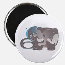 """ELEPHNT6 2.25"""" Magnet (10 pack)"""