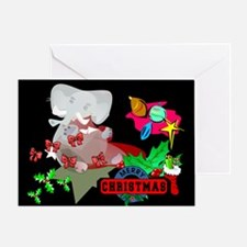 Tusk Tusk Christmas Greeting Card