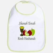 Happy Rosh Hashanah Bib