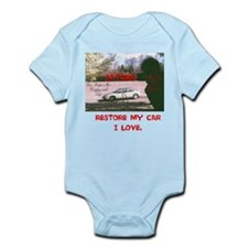 RESTORE MY CAR I LOVE. SATURN. Infant Bodysuit
