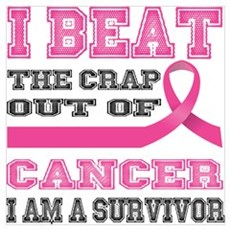 Beat the Crap Out of Cancer Poster