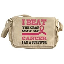 Beat the Crap Out of Cancer Messenger Bag