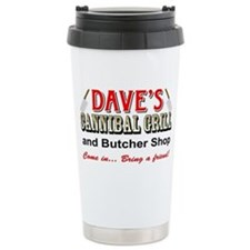 DAVE'S CANNIBAL GRILL Travel Mug