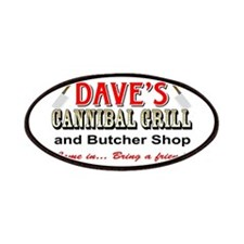 DAVE'S CANNIBAL GRILL Patch