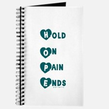 Hope hold on pain ends Journal