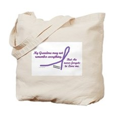 Never Forgets To Love (Grandma) Tote Bag
