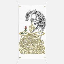Celtic Dragon Banner