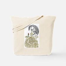 Celtic Dragon Tote Bag