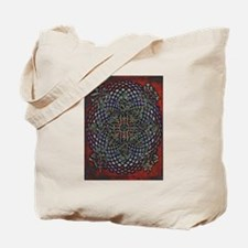 ABSTRACT ELEGANT RED EGG CROSS Tote Bag