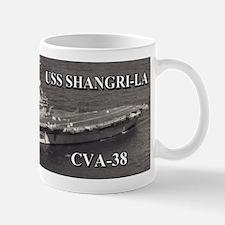USS Shangri-La CVA-38 Mugs