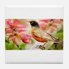Spring song Tile Coaster