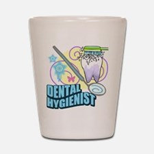 Dental Hygienists Shot Glass